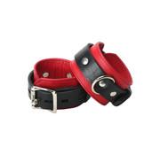 Strict Leather Rode Garmetleren Boeien - Smal