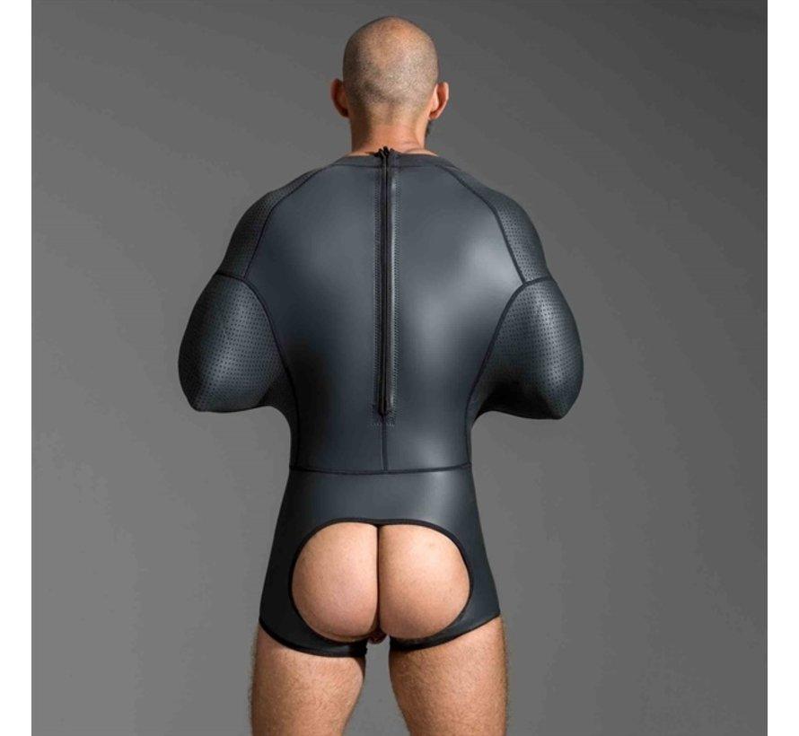 Neoprene Pod Suit Black - Large