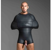 665 Neoprene Neoprene Pod Suit Black - Large