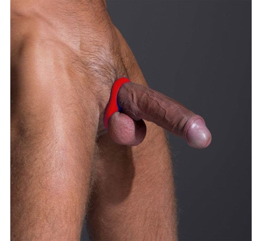 Sport Fucker Stabilizer Cock Ring - Rood