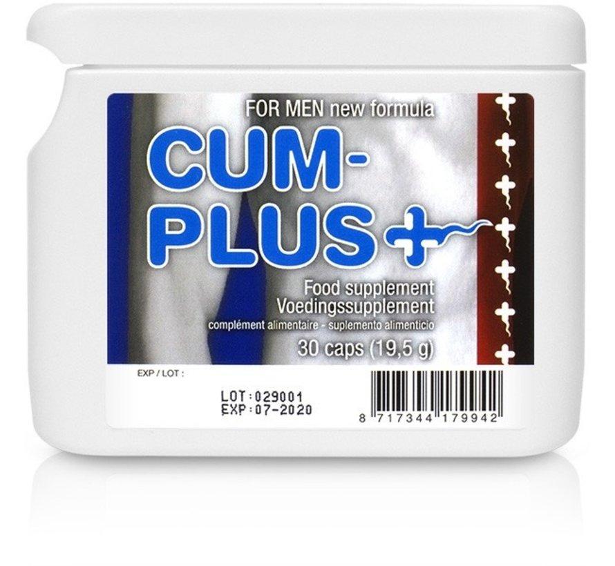 Cum Plus Flatpack Sperma Verbeteraar 30 Tabletten