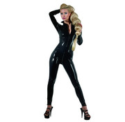 The Latex Collection Latex Catsuit black