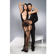 Music Legs Open Catsuit With Cut-Outs