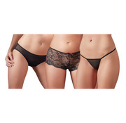 Cottelli Collection Panty Set of 3