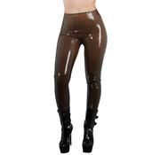 The Latex Collection Latex Tights - Smoke