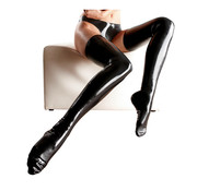 The Latex Collection Latex Stockings black