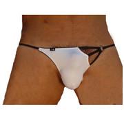 Sexy Kleding Men's string white