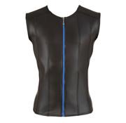 Svenjoyment Underwear Men's Shirt With Blue Zipper