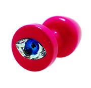 Diogol Diogol - Anni R Butt Plug Oog Roze Crystal Roze 30 mm