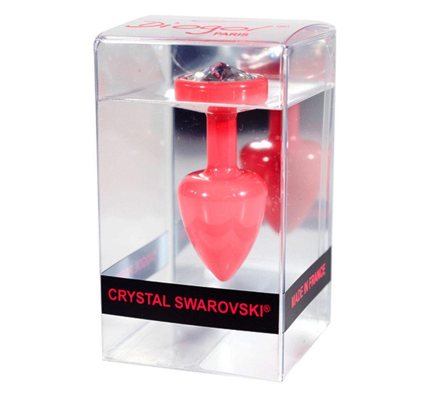 Diogol - Anni R Butt Plug Oog Roze Crystal Roze 25 mm