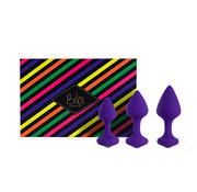 Feelztoys FeelzToys - Bibi Butt Plug Set 3 pcs Purple