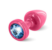 Diogol Diogol - Anni Butt Plug Rond 25 mm Roze & Blauw