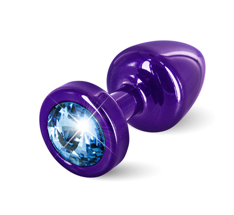 Diogol - Anni Butt Plug Rond 25 mm Paars & Blauw