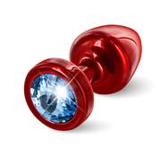 Diogol Diogol - Anni Butt Plug Rond 25 mm Rood & Blauw