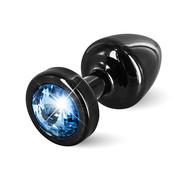 Diogol Diogol - Anni Butt Plug Rond 25 mm Zwart & Blauw