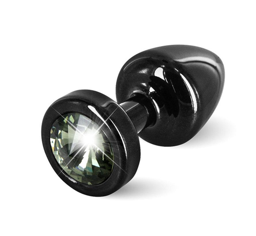 Diogol - Anni Butt Plug Rond 25 mm Zwart & Zwart