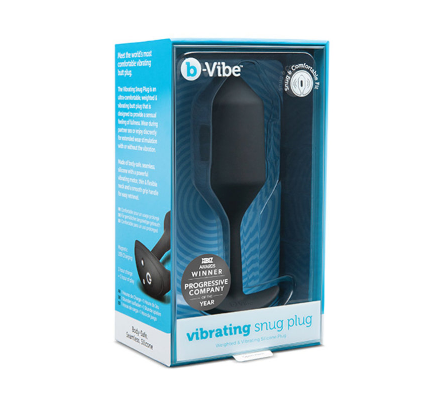 B-Vibe - Vibrerende Snug Plug XL Zwart