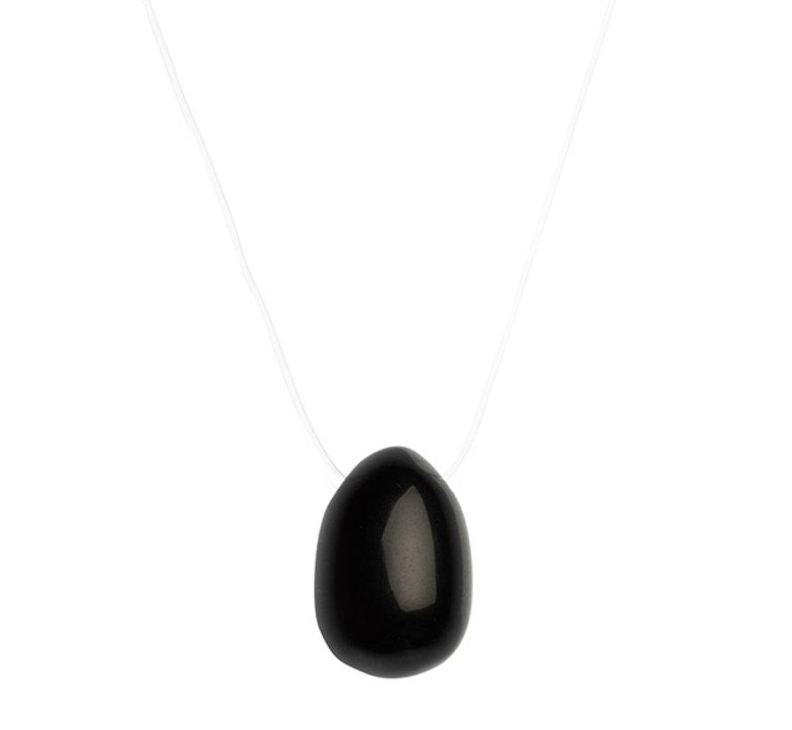 La Gemmes - Yoni Ei Zwarte Obsidiaan (S)