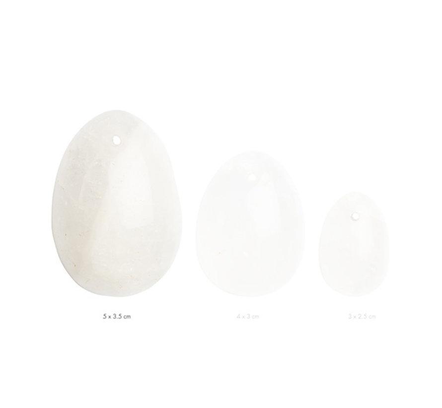 La Gemmes - Yoni Ei Bergkristal (L)