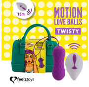 Feelztoys FeelzToys - Remote Controlled Motion Love Balls Twisty