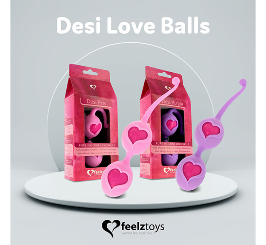 FeelzToys - Desi Love Balls Roze