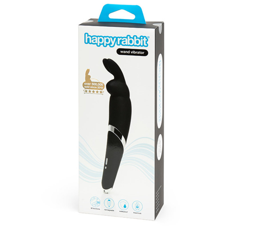 Happy Rabbit - Wand Vibrator Zwart