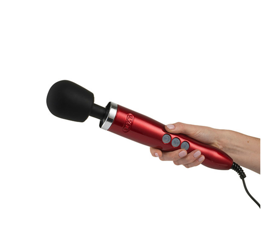 Doxy - Die Cast Wand Massager Rood