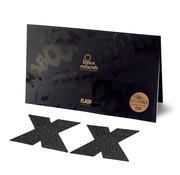 Bijoux Indiscrets Flash Cross Nipple Stickers - Black