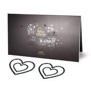 Bijoux Indiscrets Bijoux Indiscrets - Mimi Nipple Cover Heart Black