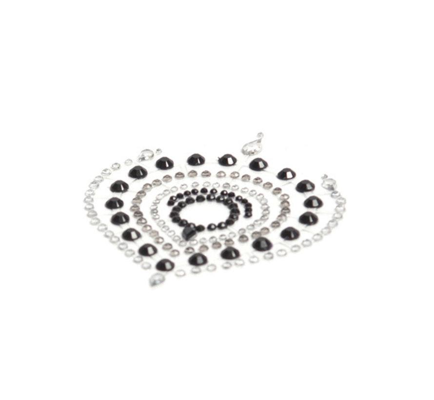 Bijoux Indiscrets - Flamboyant Zwart & Zilver