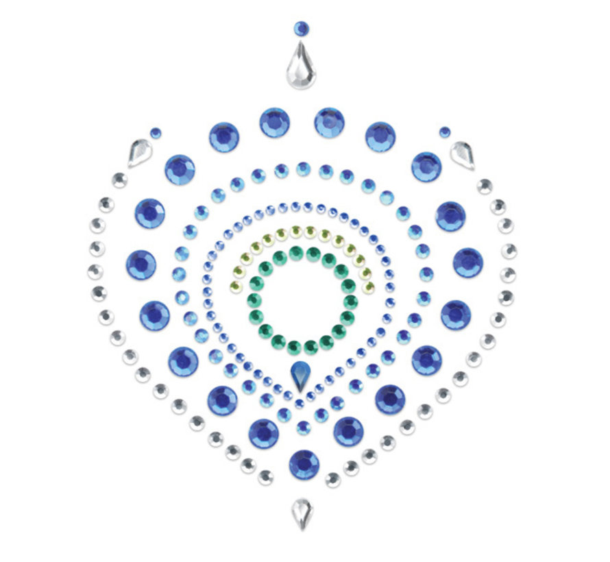 Bijoux Indiscrets - Flamboyant Blauw & Groen