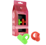 Feelztoys FeelzToys - Mycero Finger Fun Green Red