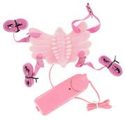 Butterfly Massager Voorbind Vibrator Roze