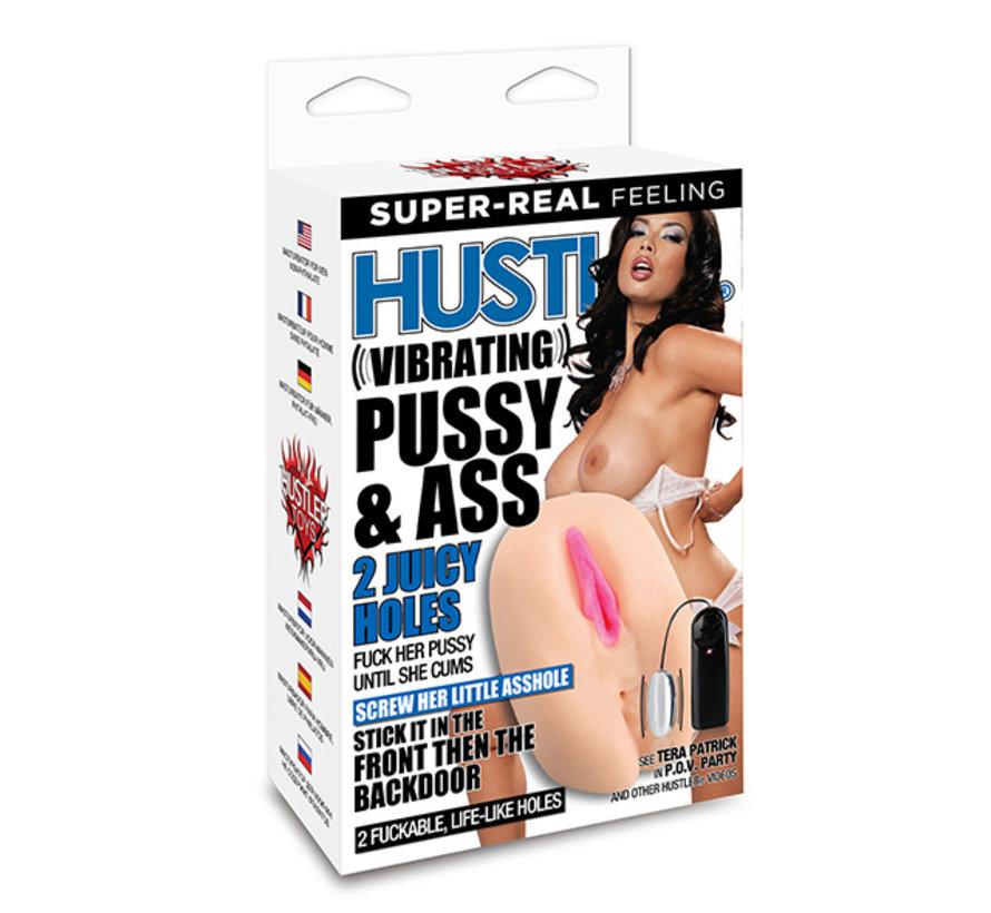 Hustler - Tera Patrick Vibrating Pussy & Ass