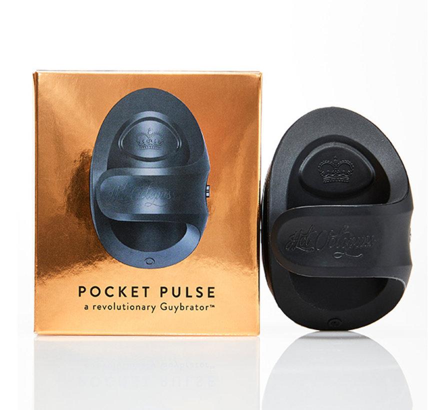 Hot Octopuss - Pocket Pulse Masturbator Zwart