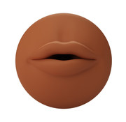 Autoblow Autoblow - A.I. Silicone Mouth Sleeve Brown