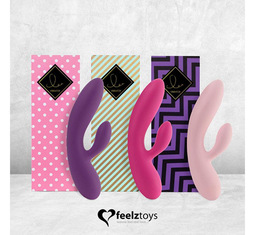 FeelzToys - Lea Rabbit Vibrator Paars