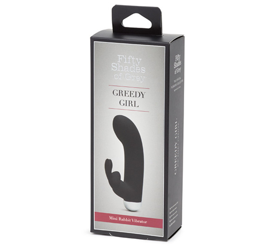 Fifty Shades of Grey - Greedy Girl Rechargeable Mini Rabbit Vibrator
