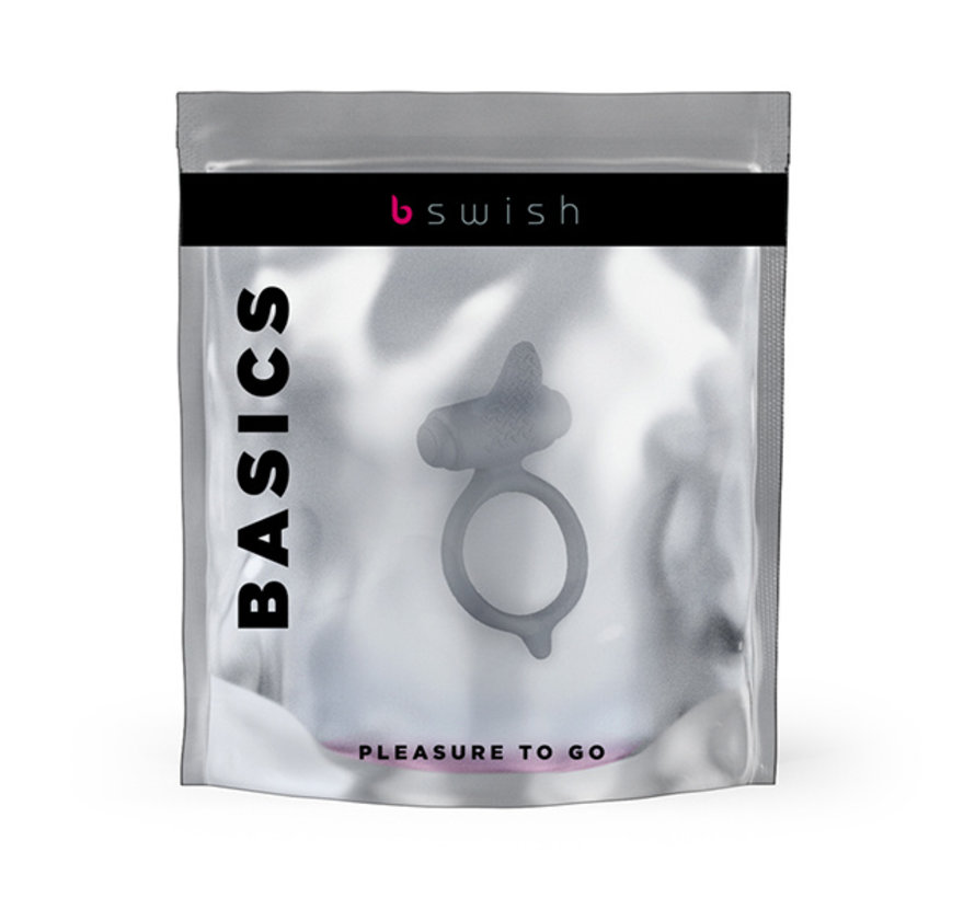 B Swish - bcharmed Basic Penisring Grijs
