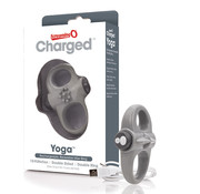 The Screaming O The Screaming O - Charged Yoga Vibe Ring Grijs