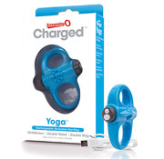 The Screaming O The Screaming O - Charged Yoga Vibe Ring Blue