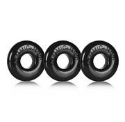 Oxballs Oxballs - Ringer of Do-Nut 1 3-pack Zwart