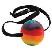 Spencer & Fleetwood Candy Ball Gag Rainbow Multi fruit