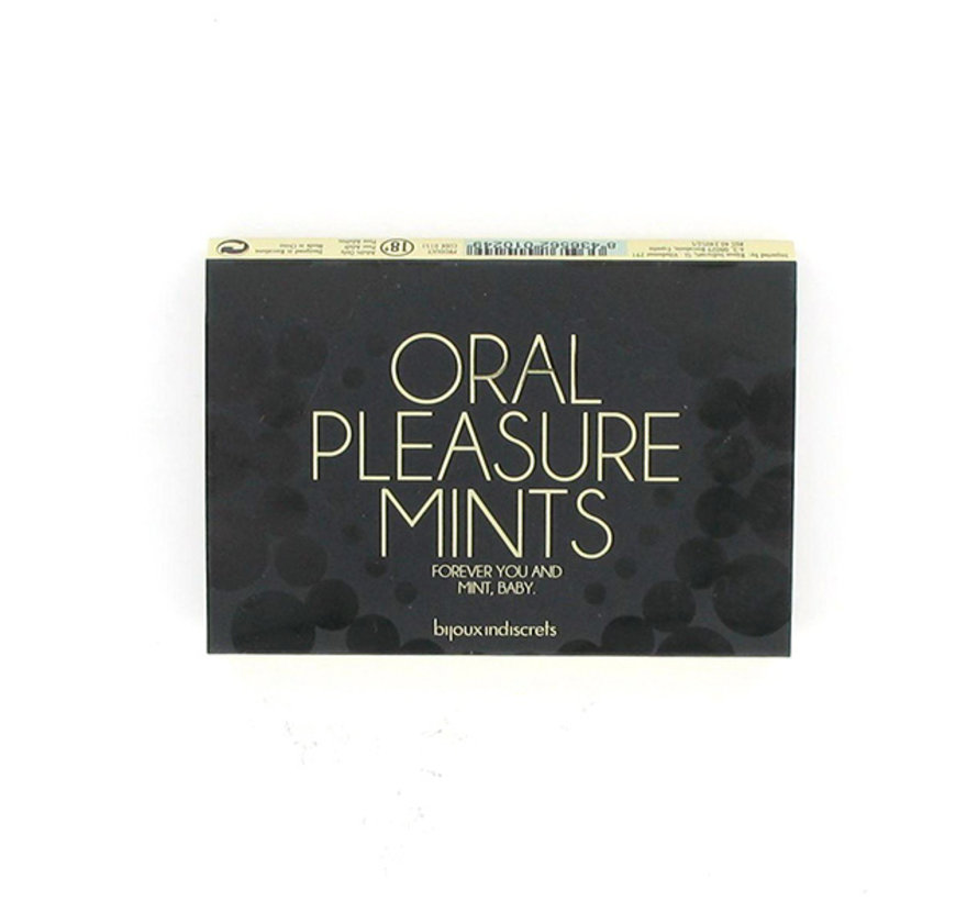 Bijoux Indiscrets - Oral Pleasure Mints Pepermunt
