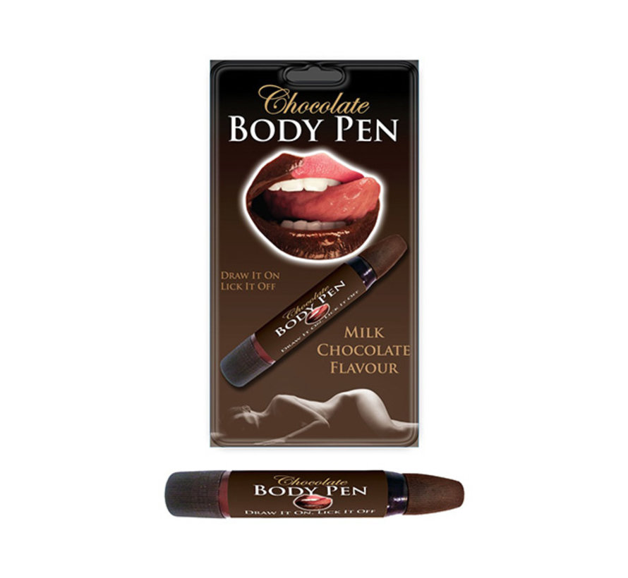 Chocolade Body Pen