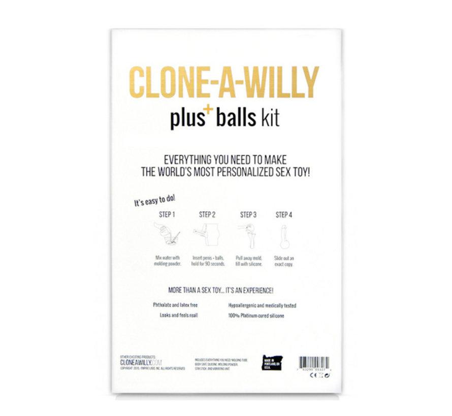 Clone-A-Willy - Kit Inclusief Ballen Lichte Huidskleur