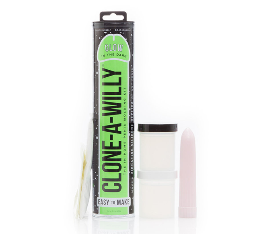 Clone-A-Willy - Kit Glow-in-the-Dark Groen