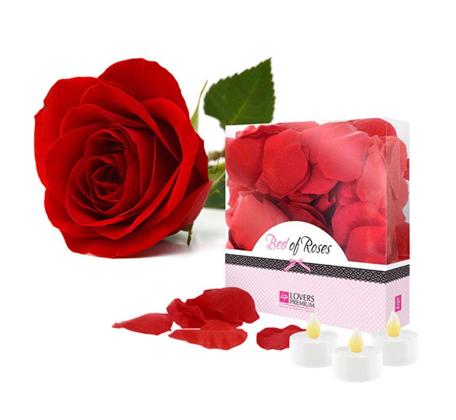 LoversPremium - Bed of Roses Rozenblaadjes Rood