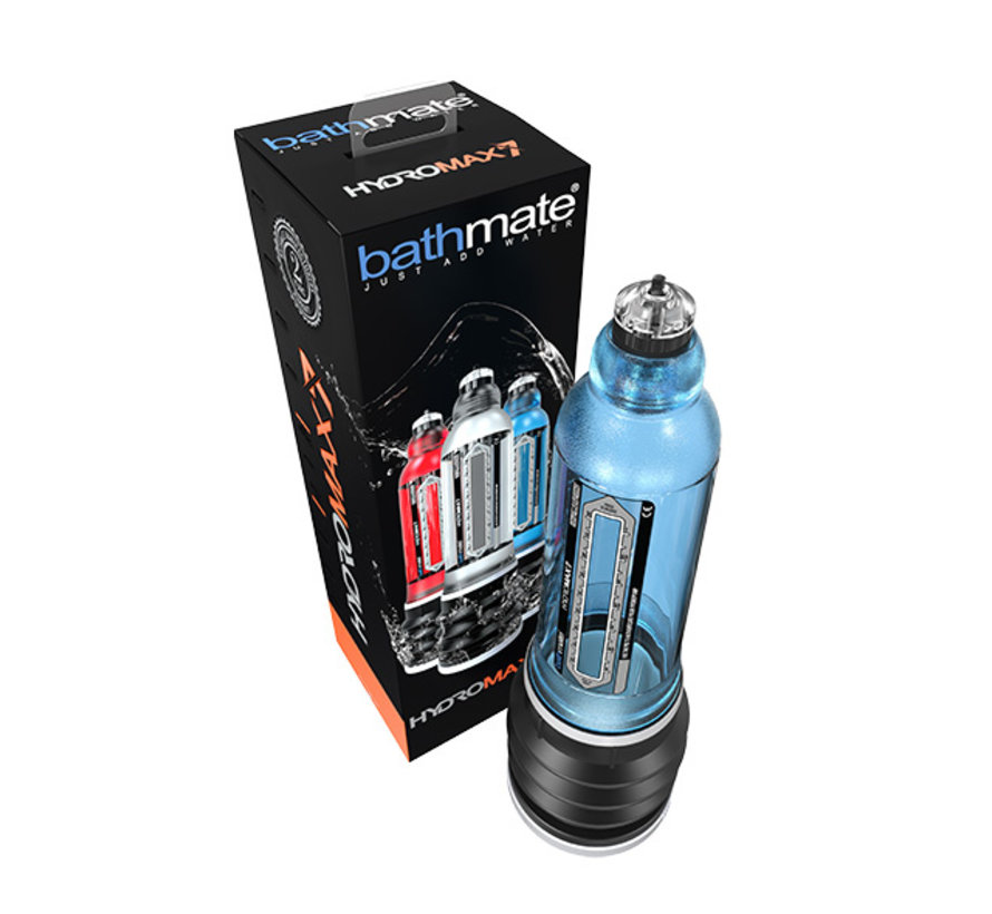 Bathmate - HydroMax7 Penispomp Blauw
