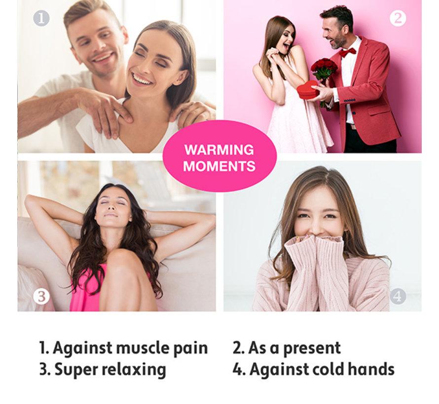 LoversPremium - Warme Massageharten (3 st.)